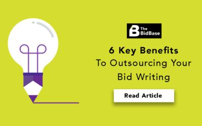 6 Key benefits to outsourcing your Bid Writing